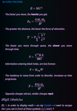 Beautiful equations.